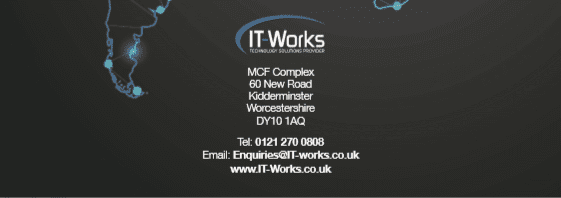 Contact information and address for IT-Works