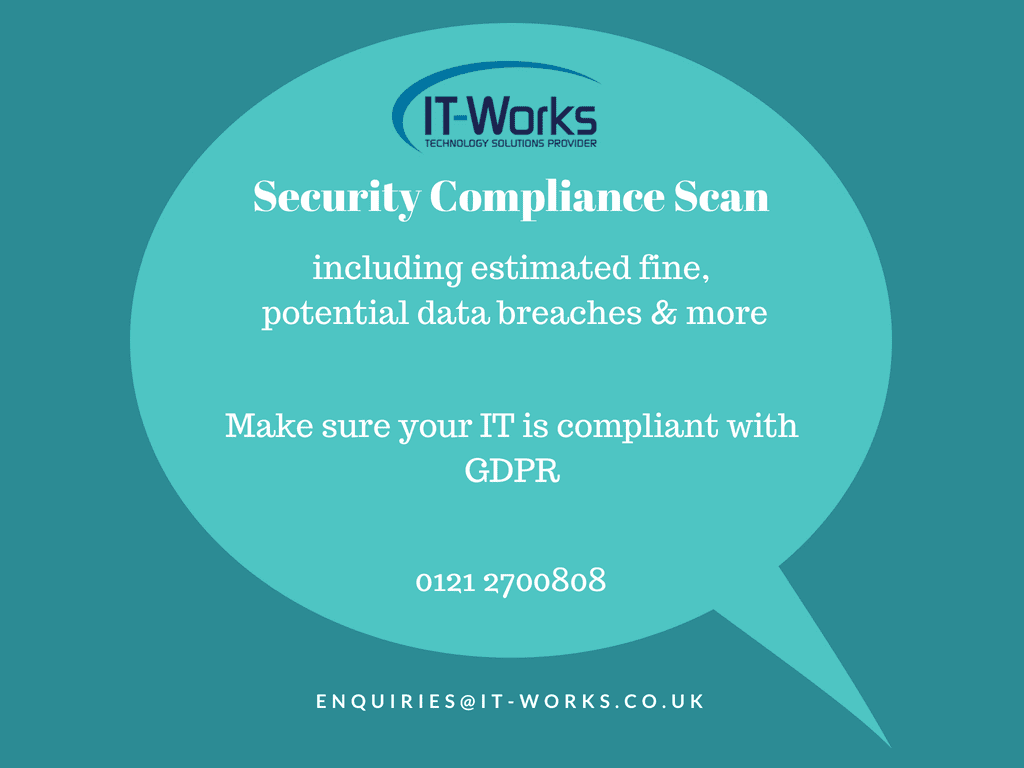 Data Security Compliance Scan